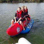 Banaanvaren in Enkhuizen. Van Stek Watersport & Fun